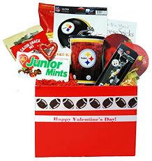 valentine gift basket him pittsburgh steelers