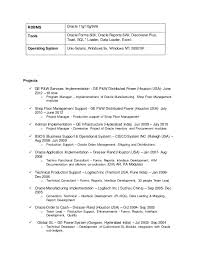 oracle apps functional consultant resume sample resume - Oracle Functional  Consultant Resume