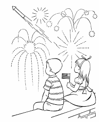 Small Picture USA Printables July Fourth Coloring Pages US Holiday fireworks