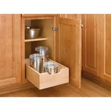 Pull Up Kitchen Cabinets Rev A Shelf 562 In H X 14 In W X 225 In D Medium Wood Base