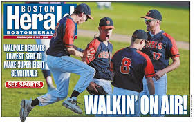Image result for walpole high school baseball super 8