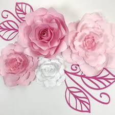 paper flower templates create your own flowers using paperflora templates gallery