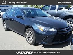 2016 Used Toyota Camry SE at Toyota of Surprise Serving Phoenix ...