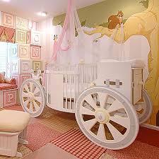 fantasy carriage crib and nursery necessities in interior design