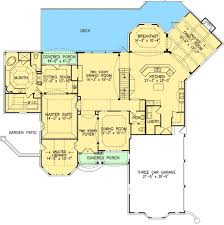 house plans with two master suites. Two Master Suites - 15632GE Floor Plan Main Level House Plans With H