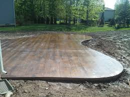 stamped concrete patio ideas patio contemporary with