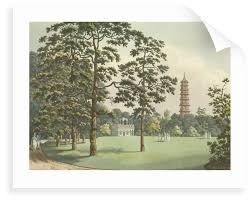 a view of kew gardens by f l mannskirsch