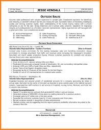 Outside Sales Resume Sample sample outside sales resumes Holaklonecco 30
