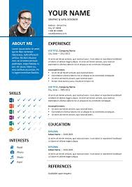 Free Cv Template Word 2007 Resume Templates Microsoft ...