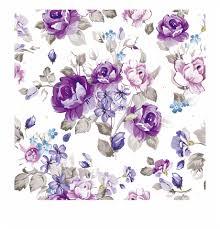 Purple Flowers Backgrounds Purple Floral Background Purple Watercolor Flowers Vector