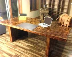 reclaimed wood office. Reclaimed Wood Desks Office Desk Custom Software Style New .