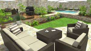 create outdoor areas with roomsketcher