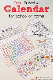 You may download these free printable 2021 calendars in pdf format. Cute Free Printable Calendar For Home Of School With Kids