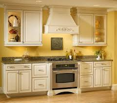 yellow kitchen walls with white cabinets outofhome vintage style with regard to french country paint colors