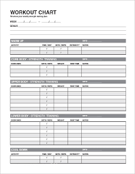 Workout Schedule Chart Free 6 Sample Workout Schedules In Google Docs Ms Word