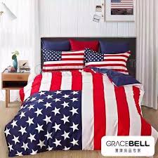 Lovely American Flag forter Set 51 For Soft Duvet Covers With