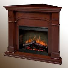 dimplex oxford electric fireplace corner setup cherry finish