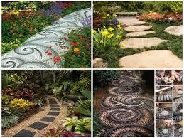 creative diy garden path ideas