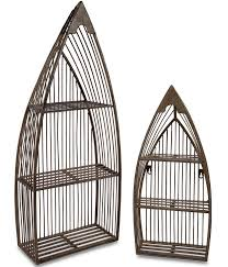 wrought iron wall mount shelves image