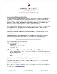 Application For Scholarship 9 Ul Li Sample Scholarship Application