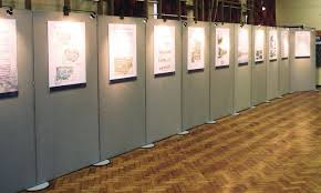 Display Boards Free Standing Exhibition Display Panels Boards Dividers 52