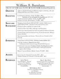 Social Work Resume Objective Statements 5 Statement On Examples