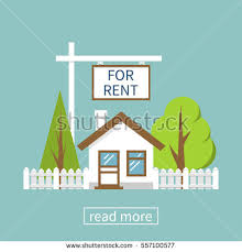 for rent sign template home rent icon real estate concept stock photo photo vector
