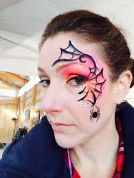 spider web face paint spider face painting spider man face paint face painting for