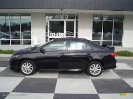 2010 Black Sand Pearl Toyota Corolla S #22003767 Photo #2 ...