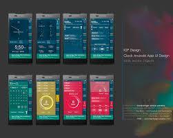 Picture Frame Design App Sasha Ksp Design Clock App Ui Design And Wire Frame Design