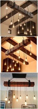 vintage farmhouse lighting. Rustic Wooden Beam Industrial Chandelier Vintage Farmhouse Lighting N