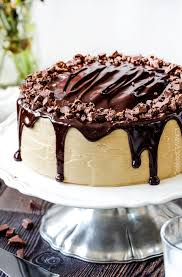 Salted Caramel Milk Chocolate Cake Carlsbad Cravings