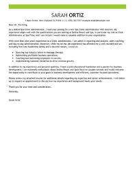 Cv Examples Administration 27 Administration Cover Letter Resume Cover Letter Example