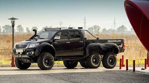 This Bulgarian Toyota Hilux 6x6 is rugged on the outside, plush on ...