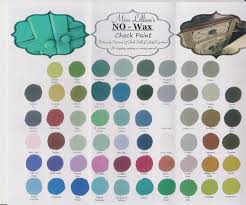 Miss Lillian S Chock Paint Color Chart Miss Lillians Color Chart Miss Lillians No Wax Chock