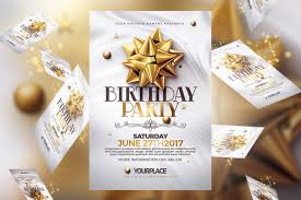 Birthday Invitation Flyer Template Birthday Invitation Psd Cards Templates On Behance 15