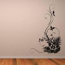 flower wall decals canada