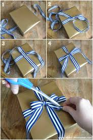 Tying Bows On Presents Present Wrapping Tips 3 Easy Gift Wrap Ideas