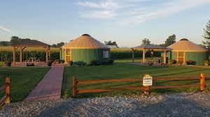 Glamping Yurts At The Shelby Mansfield Koa Resort Resort Unique Lodging Koa