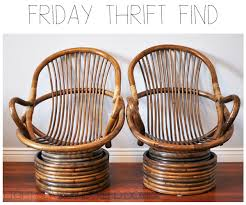 E  Top Bamboo Rattan Chairs