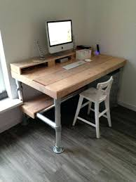 iron pipe desk desk made with large iron pipe can you say heavy iron pipe iron pipe desk