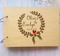 Sign Book For Wedding Wooden Personalized Wedding Guest Book Alternative Unique Wreath Wedding Guestbook Custom Name Sign Book Rustic Wedding Decor