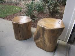 architecture wood stump stool clone tree trunk bedside stump table natural throughout tree trunk stool
