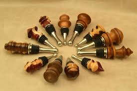 How To Make Decorative Wine Bottle Stoppers Wooden Hand Made Pens and More One of a Kind Wood Crafts Doc's 21