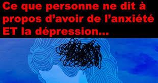 anxiete et depression