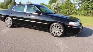 2007 Lincoln Town Car Designer Series For Sale 2007 Lincoln Town Car Designer Series For Sale Black On Black Navigation Salvage Title