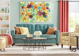 I am so excited to announce we finally chose a way to decorate the wall behind the sofa! How To Decorate A Large Wall Wayfair