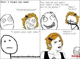Forgot Her Name Funny Meme Comic | memes and Funny | Pinterest via Relatably.com