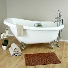 accessories for clawfoot tub. randolph morris 62 inch acrylic slipper clawfoot tub package accessories for