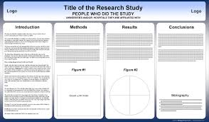 Ppt Template For Academic Presentation Free Powerpoint Scientific Research Poster Templates For Printing